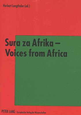 Sura Za Afrika - Voices from Africa (Paperback)