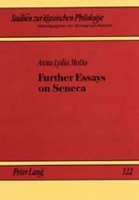 Further Essays on Seneca - Studien zur Klassischen Philologie 122 (Paperback)