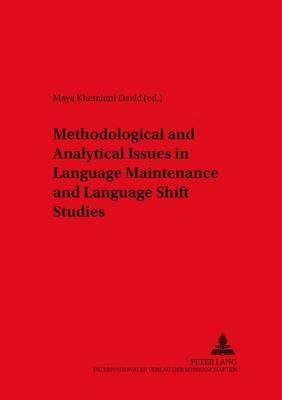 Methodological and Analytical Issues in Language Maintenance and Language Shift Studies - Duisburg Papers on Research in Language and Culture 46 (Paperback)