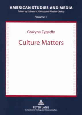 Culture Matters: Chicanas' Identity in Contemporary USA - American Studies and Media 1 (Paperback)