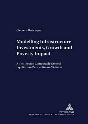 Modelling Infrastructure Investments, Growth and Poverty Impact: A Two-region Computable General Equilibrium Perspective on Vietnam - Development Economics & Policy 56 (Paperback)