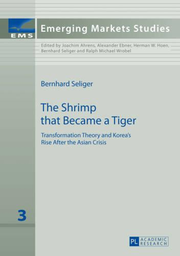 The Shrimp that Became a Tiger: Transformation Theory and Korea's Rise After the Asian Crisis - Emerging Markets Studies 3 (Hardback)