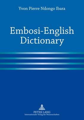 Embosi-English Dictionary (Paperback)