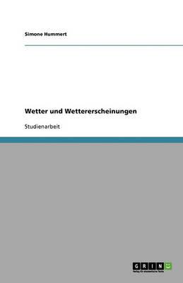 Wetter Und Wettererscheinungen (Paperback)
