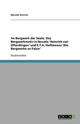 Im Bergwerk Der Seele. Das Bergwerkmotiv in Novalis 'Heinrich Von Ofterdingen' Und E.T.A. Hoffmanns 'Die Bergwerke Zu Falun' (Paperback)