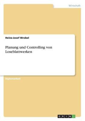 Planung Und Controlling Von Loseblattwerken (Paperback)