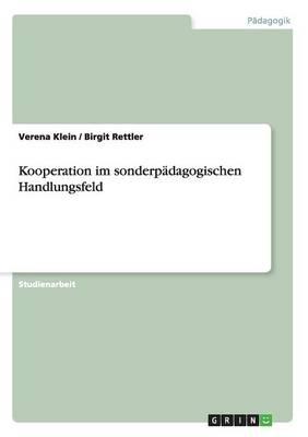 Kooperation Im Sonderpadagogischen Handlungsfeld (Paperback)