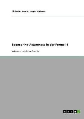 Sponsoring-Awareness in Der Formel 1 (Paperback)