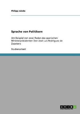 Sprache Von Politikern (Paperback)