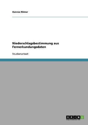 Niederschlagsbestimmung Aus Fernerkundungsdaten (Paperback)