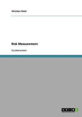 Risk Measurement (Paperback)
