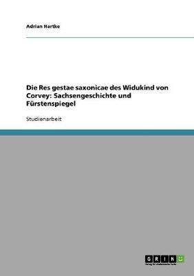 Die Res Gestae Saxonicae Des Widukind Von Corvey: Sachsengeschichte Und Furstenspiegel (Paperback)