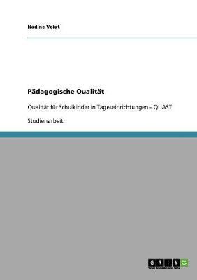 Padagogische Qualitat (Paperback)