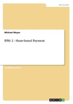 Ifrs 2 - Share-Based Payment (Paperback)