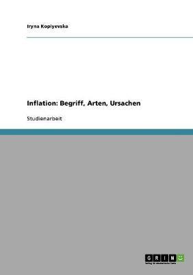 Inflation: Begriff, Arten, Ursachen (Paperback)