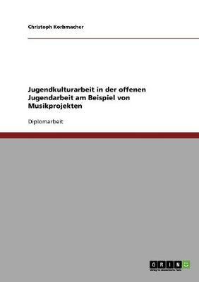 Jugendkulturarbeit in Der Offenen Jugendarbeit (Paperback)