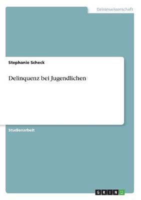 Delinquenz Bei Jugendlichen (Paperback)