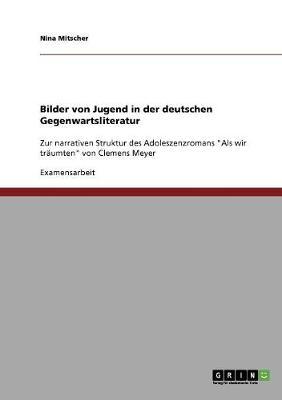Bilder Von Jugend in Der Deutschen Gegenwartsliteratur (Paperback)