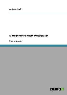 Einreise Uber Sichere Drittstaaten (Paperback)