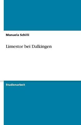 Limestor Bei Dalkingen (Paperback)