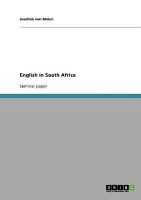 English in South Africa (Paperback)