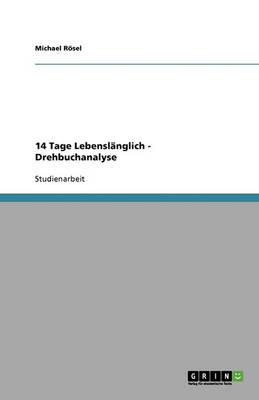 14 Tage Lebenslanglich - Drehbuchanalyse (Paperback)