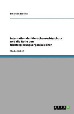 Internationaler Menschenrechtsschutz Und Die Rolle Von Nichtregierungsorganisationen (Paperback)