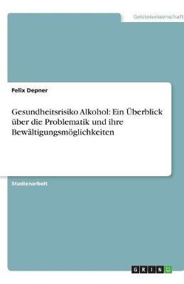 Gesundheitsrisiko Alkohol: Ein Uberblick Uber Die Problematik Und Ihre Bewaltigungsmoglichkeiten (Paperback)