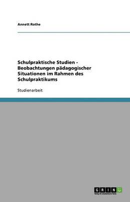 Schulpraktische Studien - Beobachtungen Padagogischer Situationen Im Rahmen Des Schulpraktikums (Paperback)