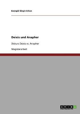Deixis Und Anapher (Paperback)