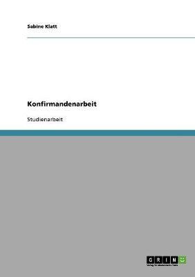 Konfirmandenarbeit (Paperback)