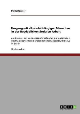 Umgang Mit Alkoholabhangigen Menschen in Der Betrieblichen Sozialen Arbeit (Paperback)