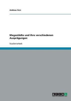Megastadte Und Ihre Verschiedenen Auspragungen (Paperback)
