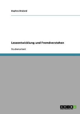 Leseentwicklung Und Fremdverstehen (Paperback)