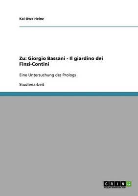 Zu: Giorgio Bassani - Il Giardino Dei Finzi-Contini (Paperback)