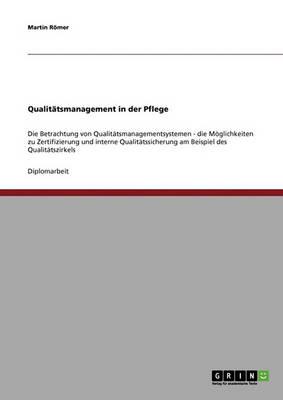 Qualitatsmanagementsysteme in Der Pflege (Paperback)