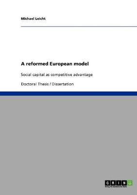 A Reformed European Model (Paperback)