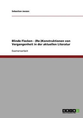 Blinde Flecken: (Re-)Konstruktionen Von Vergangenheit in Der Aktuellen Literatur (Paperback)