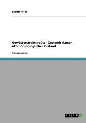 Gewasserstrukturgute - Zustandsklassen, Okomorphologischer Zustand (Paperback)