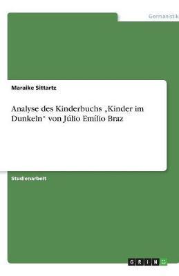 """Analyse Des Kinderbuchs """"Kinder Im Dunkeln"""" Von Julio Emilio Braz (Paperback)"""