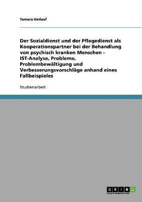 Sozialdienst Und Pflegedienst ALS Kooperationspartner Bei Der Behandlung Psychisch Kranker Menschen (Paperback)