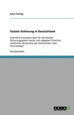Soziale Sicherung in Deutschland (Paperback)