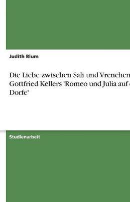 Die Liebe Zwischen Sali Und Vrenchen in Gottfried Kellers 'Romeo Und Julia Auf Dem Dorfe' (Paperback)
