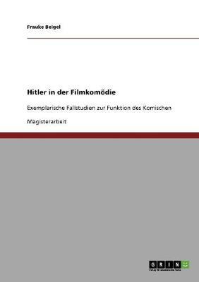 Hitler in Der Filmkomoedie (Paperback)