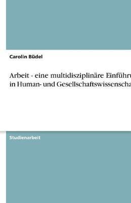 Arbeit - Eine Multidisziplinare Einfuhrung in Human- Und Gesellschaftswissenschaften (Paperback)