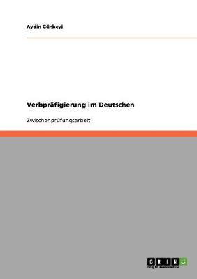 Verbpr figierung Im Deutschen (Paperback)