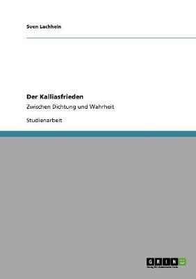 Der Kalliasfrieden (Paperback)