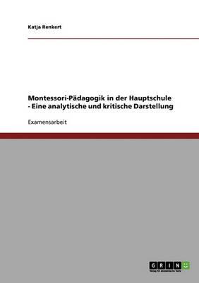 Montessori-Padagogik in Der Hauptschule (Paperback)