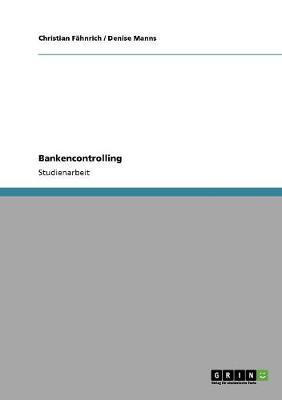 Modernes Ertragsorientiertes Bankencontrolling (Paperback)