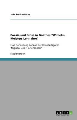 Poesie Und Prosa in Goethes Wilhelm Meisters Lehrjahre (Paperback)